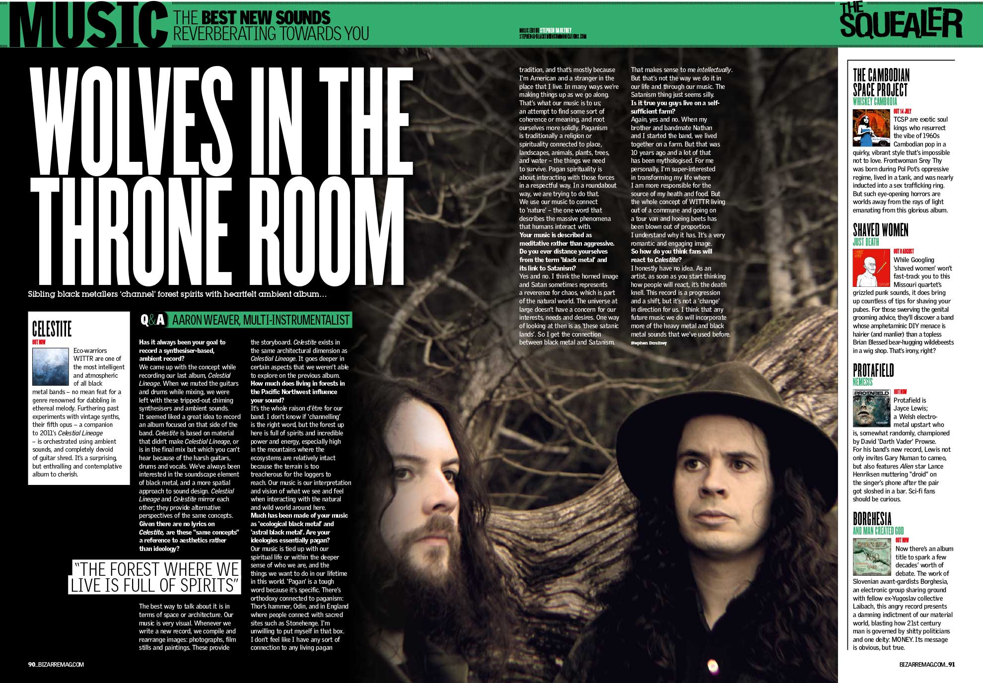 Wolves In The Throne Room — Bizarre Mag 2014